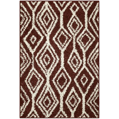 Selena Red Area Rug Rug Size: 26 x 310