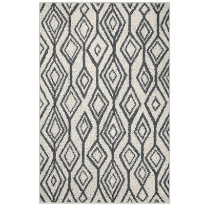 Eldredge Gray Area Rug Rug Size: 5 x 7