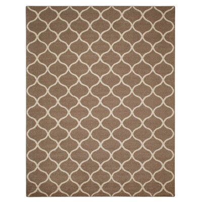 Carissa Brown Area Rug Rug Size: 7 x 10
