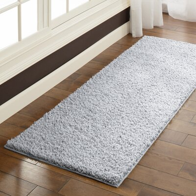 Aviles Soft Silver Area Rug Rug Size: Runner 2 x 6