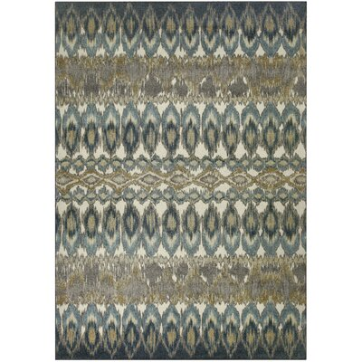 Hersey Blue Area Rug Rug Size: 7 x 10