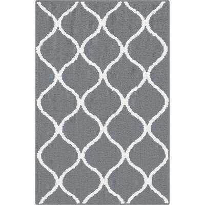 Carissa Gray Area Rug Rug Size: 26 x 310