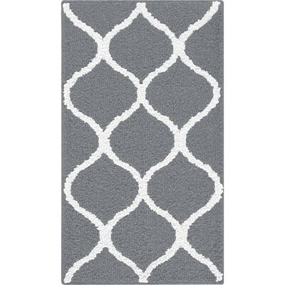 Carissa Gray Area Rug Rug Size: 18 x 210
