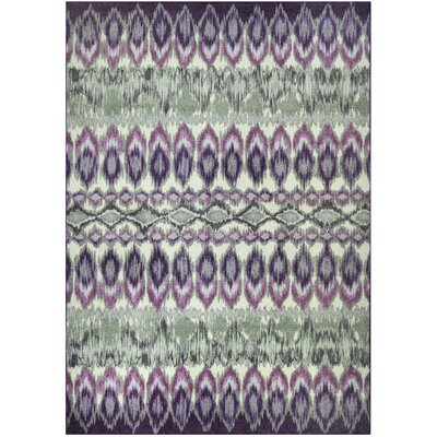 Thea Purple Area Rug Rug Size: 7 x 10