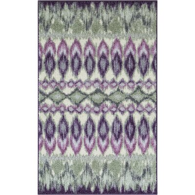 Thea Purple Area Rug Rug Size: 26 x 310