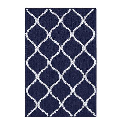 Carissa Blue Area Rug Rug Size: 26 x 310