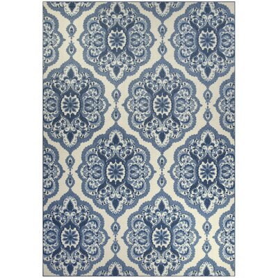 Fiona Blue Area Rug Rug Size: 7 x 10