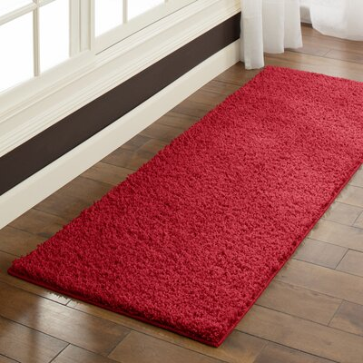 Claire Autumn Red Area Rug Rug Size: Runner 2 x 6