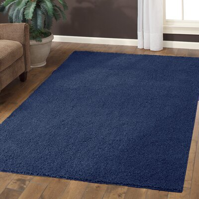 Claire Navy Area Rug Rug Size: 7 x 10