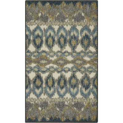 Thea Blue Area Rug Rug Size: 18 x 210
