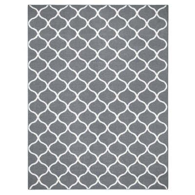 Carissa Gray Area Rug Rug Size: 7 x 10