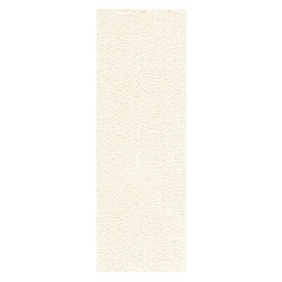 Claire Cream Area Rug Rug Size: Runner 2 x 6