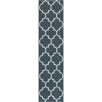 Marnie Blue Area Rug Rug Size: Runner 26 x 10