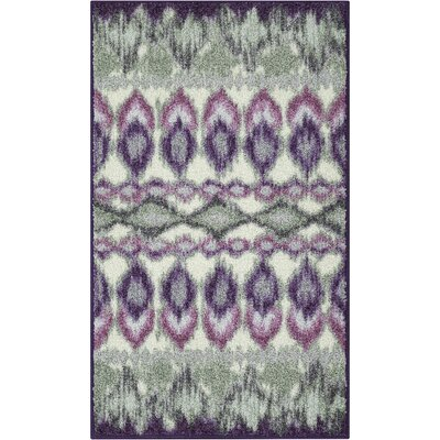 Thea Purple Area Rug Rug Size: 18 x 210
