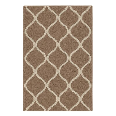Carissa Brown Area Rug Rug Size: 26 x 310
