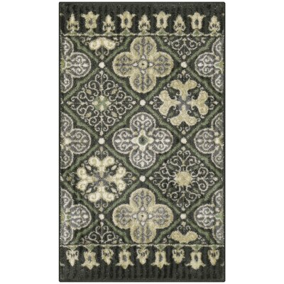 Landen Traditional Gray Area Rug Rug Size: 18 x 210