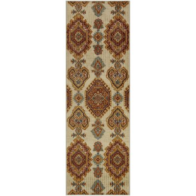 Creekbluff Tan Area Rug Rug Size: Runner 2 x 6