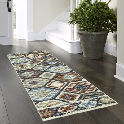 Chatelaine Tan Area Rug Rug Size: Runner 2 x 6