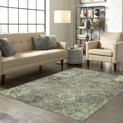 Marshawn Green Area Rug Rug Size: 26 x 310