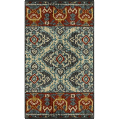 Champaign Gray Area Rug Rug Size: 26 x 310