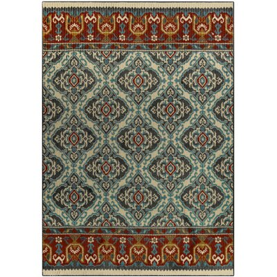 Champaign Gray Area Rug Rug Size: 5 x 7