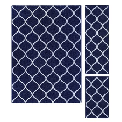 Hershman Navy Indoor Area Rug