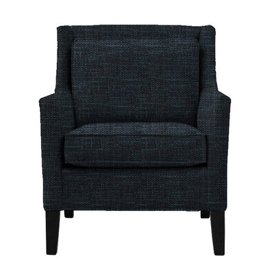 Hall Wingback Chair Finish: Montana Walnut, Upholstery: Nutria