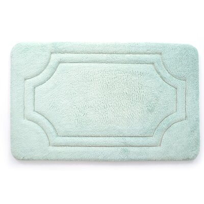 Juniper Ridge Luxurious Memory Foam Bath Mat Color: Misty Blue, Size: 21 W x 34 L