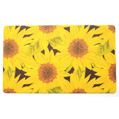 Sunflower Kitchen Mat