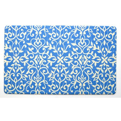 Isabella Blue Kitchen Mat