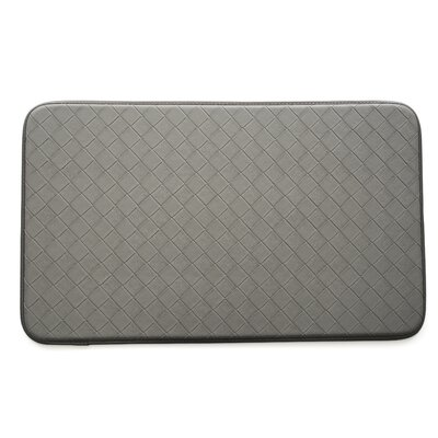 Diamond cCmfort Kitchen Mat Color: Gray