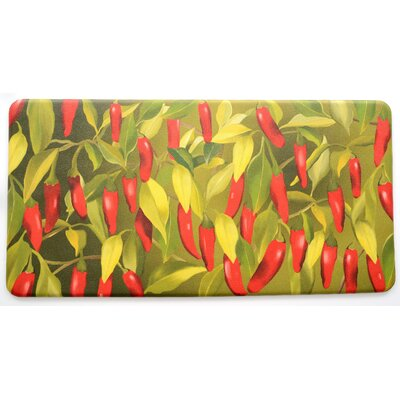 Easterbrooks Chili Pepper Kitchen Mat
