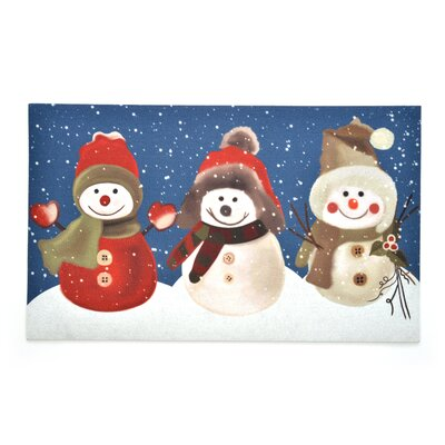 Snow Buddies Crumb Rubber Doormat