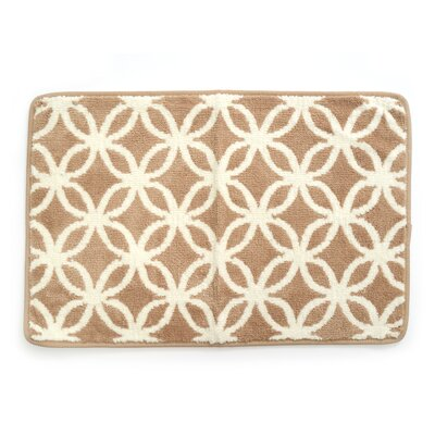 Bethea Ultra Plush Knitted Cut Pile Polyester Bath Rug Color: Tan