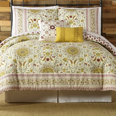 Joanne 5 Piece Comforter Set Size: King