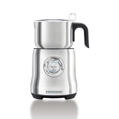 1000 ml automatischer Milchaufschäumer Advanced | Küche und Esszimmer > Kaffee und Tee > Milchaufschäumer | Silver | Gastroback