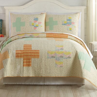 Hillside Springs by Bonnie Christine Quilt Set Size: Full/Queen