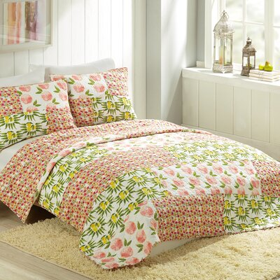 Citrus Flower by Bouffants and Broken Hearts Quilt Size: Twin