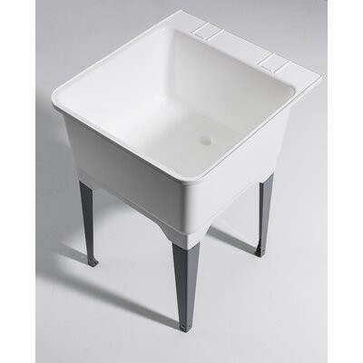 22.75 x 25.25 Free Standing Laundry Utility Sink
