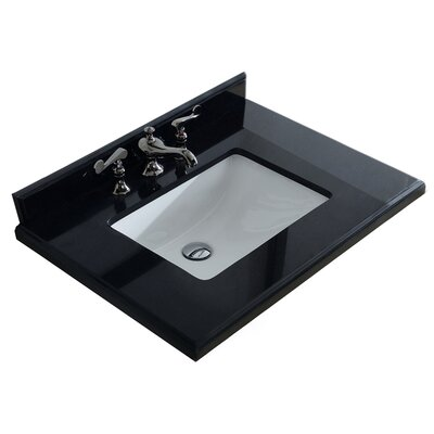 "Grazia 31"" Single Bathroom Vanity Top 313AQ9972-30-AB"