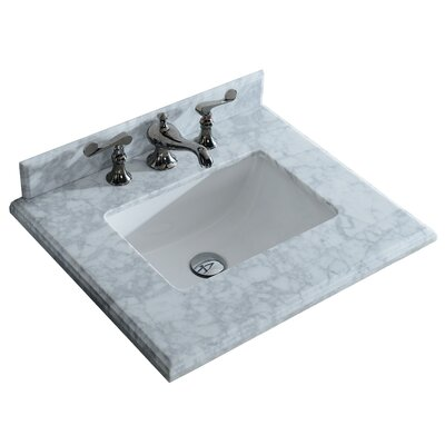 Mediterraneo 24 Single Bathroom Vanity Top