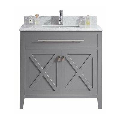 Wimbledon 36 Single Bathroom Vanity Set Base Finish: Gray
