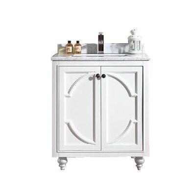 Odyssey 30 Single Bathroom Vanity Base Finish: White