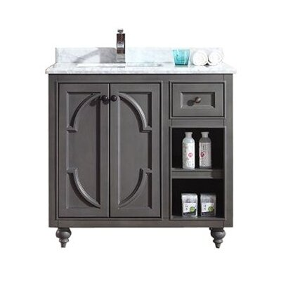 Odyssey 36 Single Bathroom Vanity Base Finish: Maple Gray