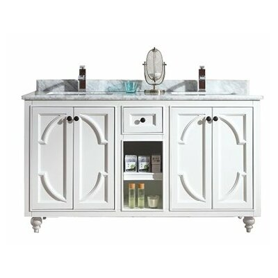 Odyssey 60 Double Bathroom Vanity Set