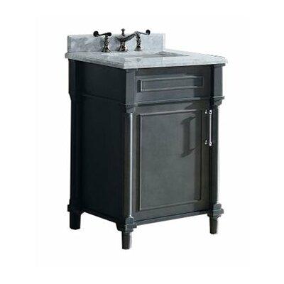 Continental 24 Single Bathroom Vanity Set Base Finish: Maple Gray