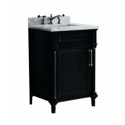 Continental 24 Single Bathroom Vanity Set Base Finish: Espresso