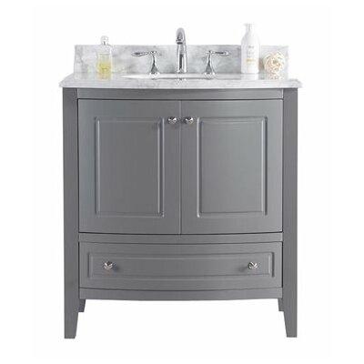 Estella 32 Single Bathroom Vanity Set Base Finish: Maple Gray
