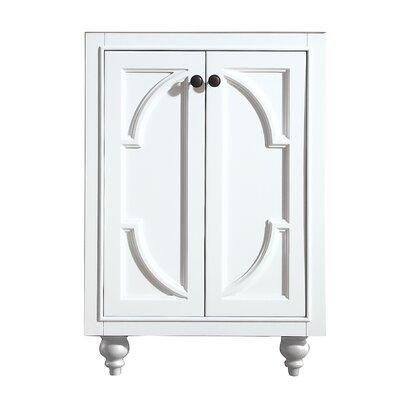 Odyssey 24 Single Bathroom Vanity Base Finish: White