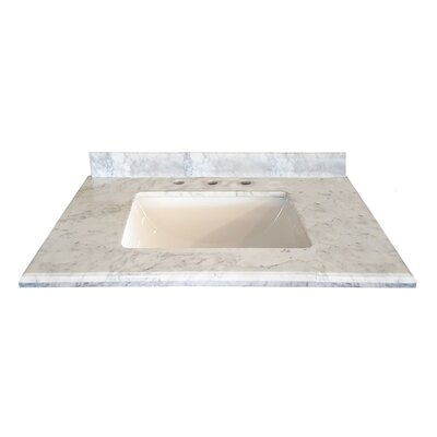 "Grazia 31"" Single Bathroom Vanity Top 313AQ9972-30-WC"